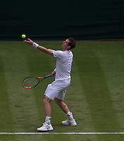 ANDY MURRAY (GBR)<br /> <br /> The Championships Wimbledon 2014 - The All England Lawn Tennis Club -  London - UK -  ATP - ITF - WTA-2014  - Grand Slam - Great Britain -  23rd June 2014. <br /> <br /> &copy; Tennis Photo Network