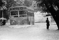 INDIA Mumbai Bombay , monsoon rains flooding the streets at suburb Borivli - copyright Joerg Boethling, also as signed black white Baryt fine print available!