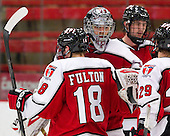 Travis Fulton (RPI - 18), Bryce Merriam (RPI - 32) - The Harvard University Crimson defeated the visiting Rensselaer Polytechnic Institute Engineers 4-0 (EN) on Saturday, November 10, 2012, at Bright Hockey Center in Boston, Massachusetts.