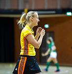 Almere - Zaalhockey Kampong-Push . scheidsrechter   Sophie Bockelmann. COPYRIGHT KOEN SUYK