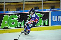 IJSHOCKEY: HEERENVEEN: IJsstadion Thialf, 02-02-2013, Eredivisie, UNIS Flyers - Amsterdam G's, Eindstand: 9-2, Wesley Timmermans (#6 | Flyers), ©foto Martin de Jong