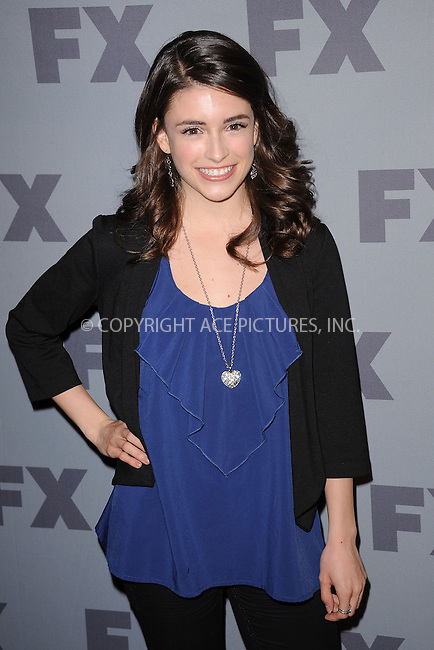 WWW.ACEPIXS.COM . . . . . .March 29, 2012...New York City....Daniela Bobadilla attends the FX Ad Sales 2012 Upfront at Lucky Strike in Manhattan on March 29, 2012  in New York City ....Please byline: KRISTIN CALLAHAN - ACEPIXS.COM.. . . . . . ..Ace Pictures, Inc: ..tel: (212) 243 8787 or (646) 769 0430..e-mail: info@acepixs.com..web: http://www.acepixs.com .