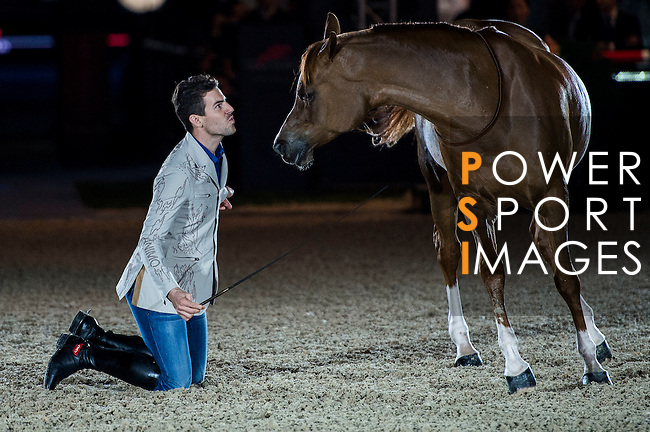 Santi Serra Performs at the Opening Gala of the Masters during the Longines Hong Kong Masters 2015 at the AsiaWorld Expo on 12 February 2015 in Hong Kong, China. Photo by Juan Flor / Power Sport Images