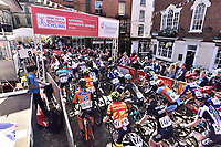 Picture by Allan McKenzie/SWpix.com - 14/05/2017 - Cycling - HSBC UK British Cycling -  National Women's Road Series - Lincoln Grand Prix -  start roll out