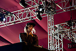 Electronic musician Cashmere Cat performs on stage at Weekend 1 of the Coachella Valley Music and Arts Festival in Indio, California April 11, 2015. (Photo by Kendrick Brinson)