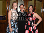Denise Fay, Catherine Dunne and Denise McEneaney at the Team Carrie annual dinner and presentation night. Photo:Colin Bell/pressphotos.ie