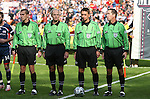18 November 2007: MLS Cup 2007 match officials. From left: Assistant Referee Adam Wienckowski, Fourth Official Brian Hall, Referee Arkadiusz (Alex) Prus, and Assistant Referee Rob Fereday. The Houston Dynamo defeated the New England Revolution 2-1 at RFK Stadium in Washington, DC in MLS Cup 2007, Major League Soccer's championship game.