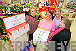 Tesco community Fund Programme - Adapt has been chosen as one of the 3 charities Pictured Caroline Britton, Store Manager, Tesco Manor, Tralee, Annamarie Foley, General Manager, Adapt Kerry Women's Refuge, Tralee, Eileen Kelliher, Board Member, Marion Hogan, Board Member