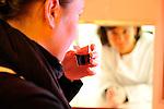 20080930 - France - Bourgogne - Dijon<br /> AU CENTRE EUROPEEN DES SCIENCES DU GOUT A DIJON : DANS UNE CABINE DE TEST SENSORIEL<br /> Ref : CESG_007.jpg - © Philippe Noisette.