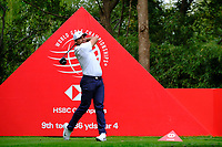 Jason Day (AUS) on the 9th tee  during the 1st round at the WGC HSBC Champions 2018, Sheshan Golf Club, Shanghai, China. 25/10/2018.<br />
