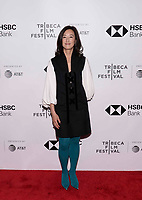 "NEW YORK CITY - APRIL 22: Clara Wu Tsai attends National Geographic's ""Into The Okavango"" Screening at Tribeca Film Festival at Tribeca Festival Hub on April 22, 2018 in New York City. (Photo by Anthony Behar/National Geographic/PictureGroup)"
