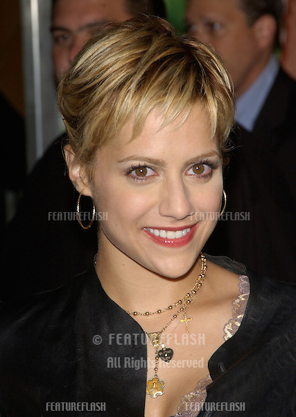 Actress BRITTANY MURPHY at the Los Angeles premiere of 13 Going on 30..April 14, 2004