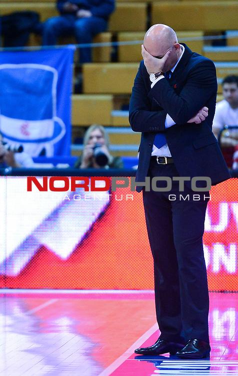 30.10.2013., KD Drazen Petrovic, Zagreb, Croatia - Eurocup, group A, 3rd round, KK Cibona - Artland Dragons Quakenbrueck. Neven Spahija. <br /> Foto &copy;  nph / PIXSELL / Marko Prpic