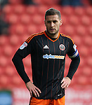 Sheffield United's Billy Sharp in action during the League One match at the Valley Stadium, London. Picture date: November 26th, 2016. Pic David Klein/Sportimage