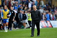 Gillingham Interim Manager, Peter Taylor heads to the dressing room at the final whistle during Gillingham vs Portsmouth, Sky Bet EFL League 1 Football at the MEMS Priestfield Stadium on 8th October 2017