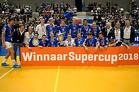 GRONINGEN - Volleybal, Lycurgus - Taurus, Supercup, seizoen 2018-2019, 29-09-2018,  Lycurgus winnaar supercup