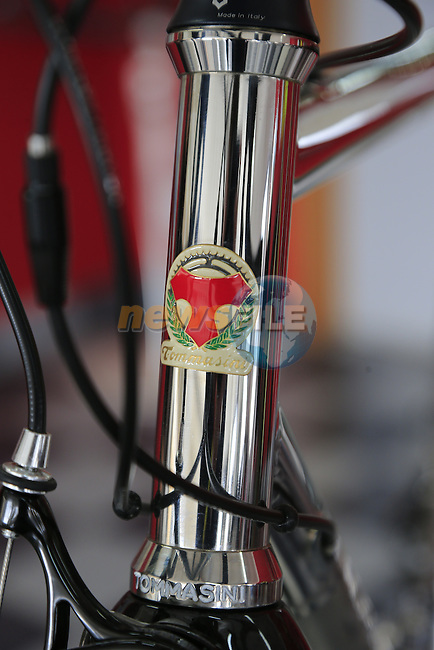 The stainless steel XFire in the showroom at the Tommasini factory based in Grosseto, Tuscany, Italy 6th March 2017.<br /> Picture: Eoin Clarke   Newsfile<br /> <br /> <br /> All photos usage must carry mandatory copyright credit (© Newsfile   Eoin Clarke)