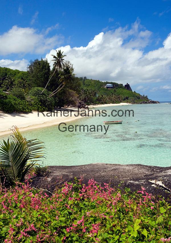Seychelles, Island Mahe, Anse Forbans: beach
