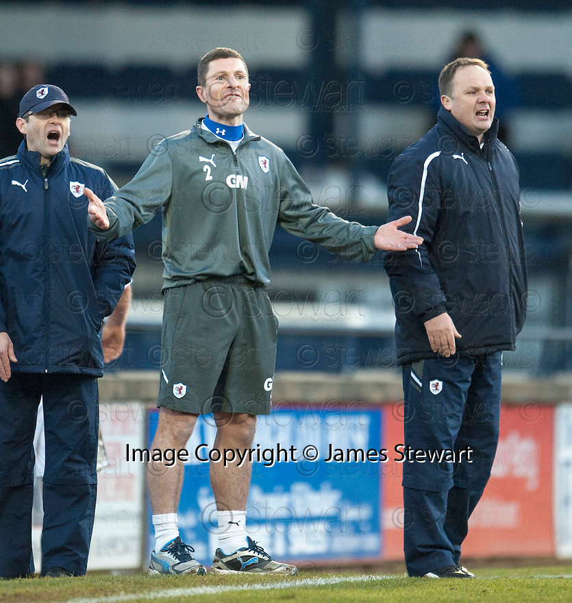 Raith Rovers' manager Grant Murray ...