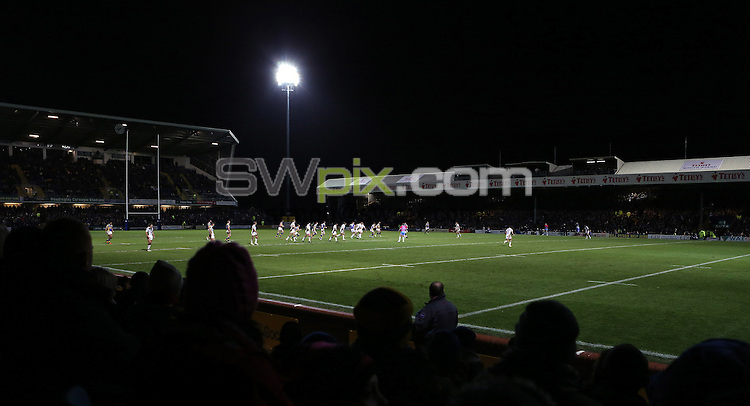 PICTURE BY VAUGHN RIDLEY/SWPIX.COM - Rugby League - Super League - Leeds Rhinos v Hull FC - Headingley, Leeds, England - 01/02/13 - GV, General View.