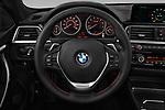 Car pictures of steering wheel view of a 2018 BMW 4 Series Gran Coupe 2wd 430i 5 Door Hatchback