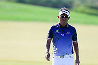 Thongchai Jaidee (THA) on the 1th fairway during the 1st round of the Abu Dhabi HSBC Championship, Abu Dhabi Golf Club, Abu Dhabi,  United Arab Emirates. 16/01/2020<br /> Picture: Fran Caffrey | Golffile<br /> <br /> <br /> All photo usage must carry mandatory copyright credit (© Golffile | Fran Caffrey)