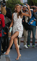 Blake Lively leaving the Martinez hotel - 67th Annual Cannes Film Festival - France