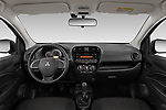 Stock photo of straight dashboard view of 2020 Mitsubishi Space-Star IN 5 Door Hatchback Dashboard
