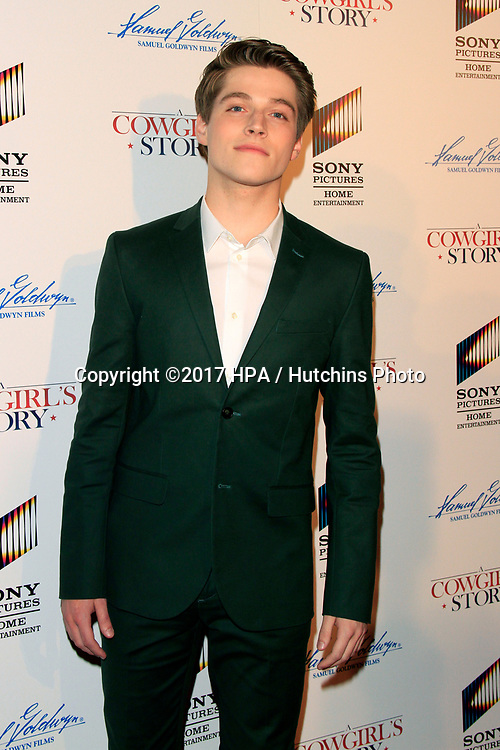"LOS ANGELES - APR 13:  Froy Gutierrez at the ""A Cowgirl's Story"" Premiere at the Pacific Theatres at The Grove on April 13, 2017 in Los Angeles, CA"