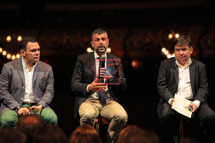 Presentacio 'Liceu a la fresca'.<br /> Roger Guasch, Santi Vila &amp; Sigfrid Gras.