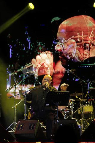 Cuban singer Pablo Milanes during his performance at Pitic 2012 in Hermosillo. Sonora, Mexico. May 26, 2012. Credit: Baldemar de los Llanos/NortePhoto/MediaPunch Inc. ***NO SPAIN*** ***NO MEXICO***