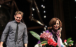 "Curtain Call - ATWT Billy Magnussen, Sigourney Weaver star iin Broadway's ""Vanya and Sonia and Masha and Spike"" which had its opening night on March 14, 2013 at the Golden Theatre, New York City, New York.  (Photo by Sue Coflin/Max Photos)"