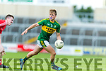 Fiáchra Clifford Kerry in action against  Louth in the All Ireland Minor Football Quarter Finals at O'Moore Park, Portlaoise on Saturday.