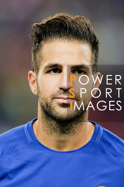 Chelsea Midfielder Cesc Fabregas during the International Champions Cup match between Chelsea FC and FC Bayern Munich at National Stadium on July 25, 2017 in Singapore. Photo by Marcio Rodrigo Machado / Power Sport Images