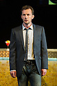 Edinburgh, UK. 30.08.2012. Scottish Opera and Music Theatre Wales present GHOST PATROL. Written by Louise Welsh and scored by Stuart MacRae. Picture shows: James McOran-Campbell (as Alasdair). Photo credit: Jane Hobson.