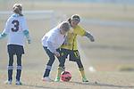 MS Flood SC 05 vs. Bartlett SC 05 in girls U10 soccer in the John Talley Shootout at the Mike Rose Soccer Complex in Memphis, Tenn. on Sunday, March 23, 2014. Bartlett won 2-1.
