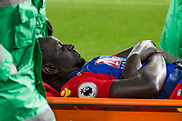 Crystal Palace's Mamadou Sakho injured and has to be stretchered off     <br /> <br /> <br /> Photographer Craig Mercer/CameraSport<br /> <br /> The Premier League - Crystal Palace v Tottenham Hotspur - Wednesday 26th April 2017 - Selhurst Park - London<br /> <br /> World Copyright &copy; 2017 CameraSport. All rights reserved. 43 Linden Ave. Countesthorpe. Leicester. England. LE8 5PG - Tel: +44 (0) 116 277 4147 - admin@camerasport.com - www.camerasport.com