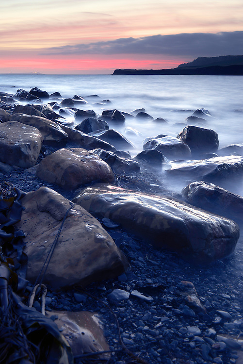 Rocky shoreline at Kimmeridge Bay, Dorset