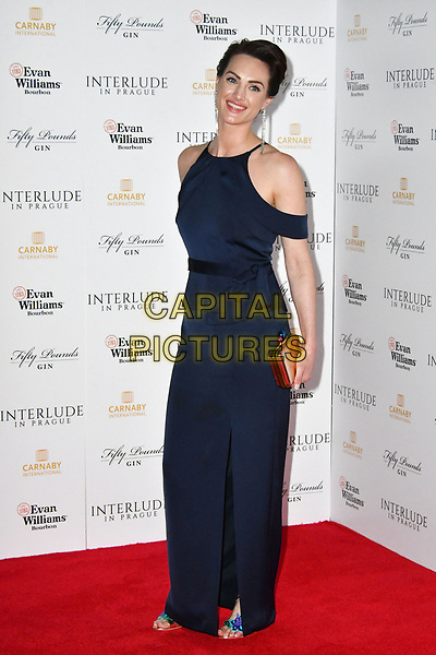 Charlotte Peters. Premiere of 'Interlude in Prague', a drama following the turbulent months when composer Wolfgang Amadeus was brought to Prague by Baron Saloka, held at Odeon cinema, Leicester Square, London, UK, May 11th 2017.<br /> CAP/JOR<br /> &copy;JOR/Capital Pictures