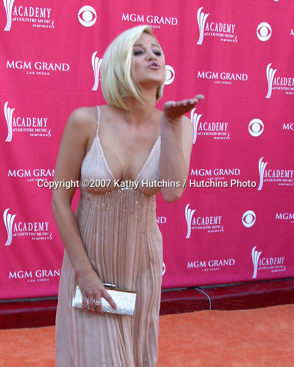 Kelli Pickler.Academy  of Country Music Awards.MGM Grand Garden Arena.Las Vegas, NV.May 15, 2007.©2007 Kathy Hutchins / Hutchins Photo....