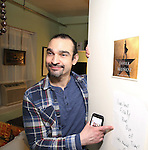 Javier Munoz during the cast of 'Hamilton' 2016 Door Decorating Competition at Richard Rodgers Theatre on December 23, 2016 in New York City.