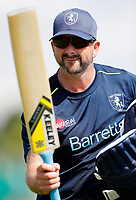 Darren Stevens of Kent strikes a pose during the Royal London One Day Cup game between Kent and Gloucestershire at the County Ground, Beckenham, on June 3, 2018