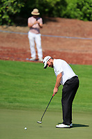 Shane Lowry (IRL) on the 13th during the 1st round of the DP World Tour Championship, Jumeirah Golf Estates, Dubai, United Arab Emirates. 15/11/2018<br /> Picture: Golffile | Fran Caffrey<br /> <br /> <br /> All photo usage must carry mandatory copyright credit (© Golffile | Fran Caffrey)