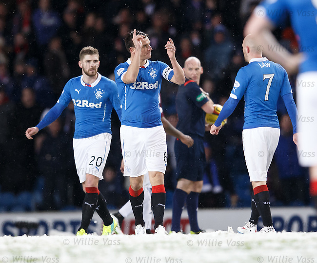 Lee McCulloch after Bobby Madden calls off the match