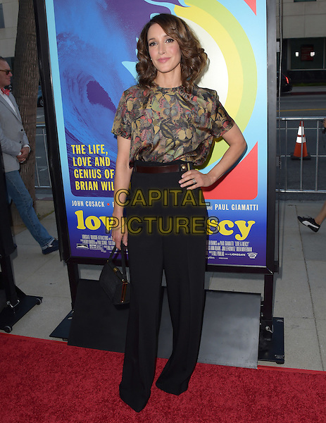 Jennifer Beals attends The Lionsgate L.A. Premiere of Love &amp; Mercy held at AMPAS  in Beverly Hills, California on June 02,2015                                                                               <br /> CAP/RKE/DVS<br /> &copy;DVS/RockinExposures/Capital Pictures