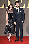 "Lizzy Caplan and Tom Riley<br /> at the ""Allied"" UK premiere, Odeon Leicester Square, London.<br /> <br /> <br /> ©Ash Knotek  D3202  21/11/2016"