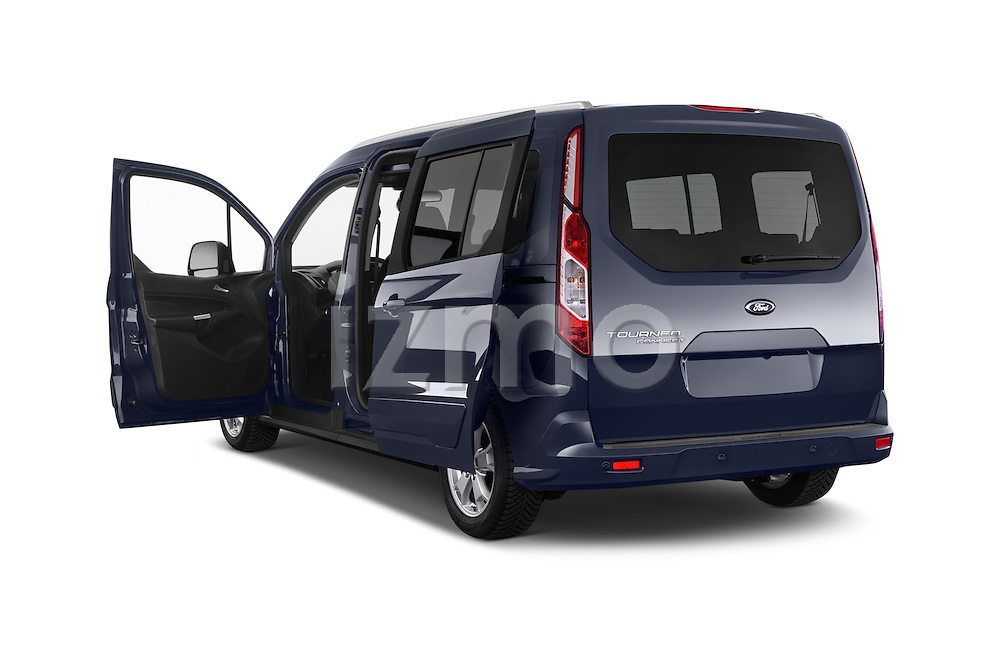 Car images of a 2015 Ford Grand Tourneo Connect Titanium 5 Door Minimpv Doors