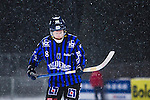 Uppsala 2014-01-12 Bandy  IK Sirius - GAIS Bandy :  <br />  Sirius Niklas Eriksson deppar efter att GAIS Eric Claesson kvitterat till 2-2<br /> (Foto: Kenta J&ouml;nsson) Nyckelord:  depp besviken besvikelse sorg ledsen deppig nedst&auml;md uppgiven sad disappointment disappointed dejected