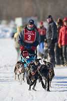 Rob Downey, 2007 Limited North American Championship Sled dog race in Fairbanks, Alaska.