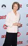 "Charlotte Rampling arriving at showtime's ""Dexter Season Eight Premiere Party"" held at MILK Studios in Los Angeles on June 15, 2013"
